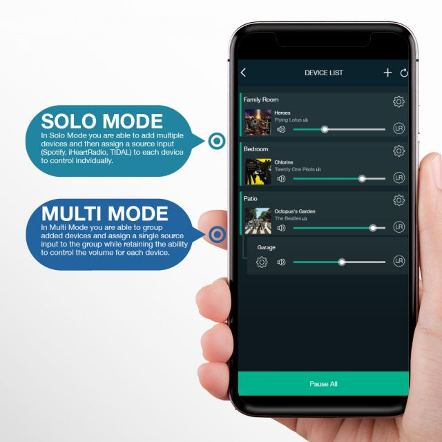 OSD Player App Solo or Multi Mode